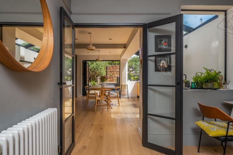terrace side extension kitchen