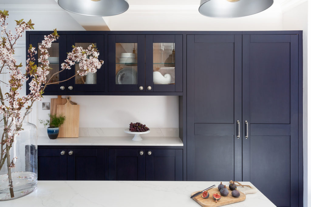 modern in frame shaker kitchen