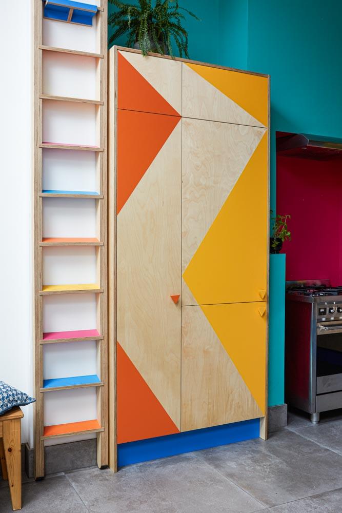 Bespoke kitchen ladder
