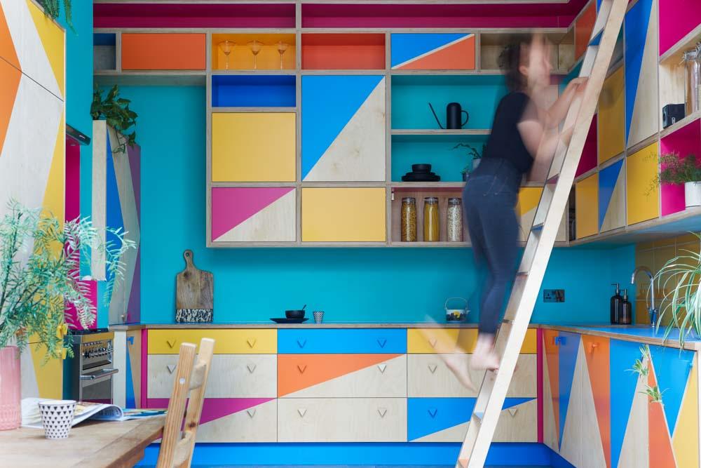 Bespoke kitchen ladder ideas