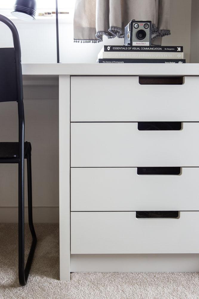bespoke desk drawers